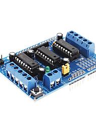 abordables -L293D Carte d'extension moteur entrainement Shield moteur (Bleu)
