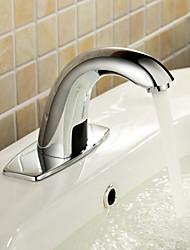 billige -Håndvasken vandhane - Touch / ikke-touch Krom Centersat Et Hul / Håndfri Et HulBath Taps