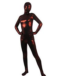 cheap -Wine Red Shiny Metallic Full body Zentai