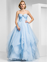 cheap -Ball Gown Sweetheart Floor-length Organza Evening/Prom Dress