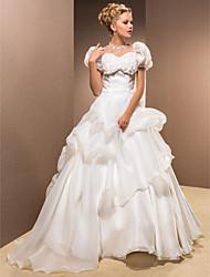Недорогие -ALBANA - Платье свадебное из органзы