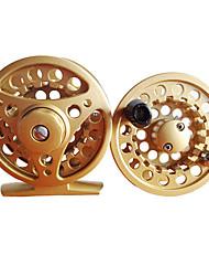cheap -Fishing Reel Fly Reel 1:1 Gear Ratio 3 Ball Bearings for Fly Fishing