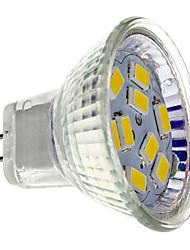 cheap -2 W LED Spotlight 200 lm GU4 MR11 9 LED Beads SMD 5730 Warm White 12 V