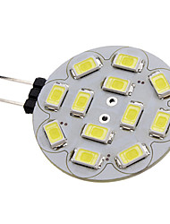cheap -1.5 W LED Spotlight 150-200 lm G4 12 LED Beads SMD 5730 Natural White 12 V / #