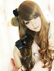 cheap -Lolita Wig Inspired by Sweet Beauty Qreen Zipper Mixed Brown 60cm Casual