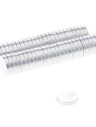 Недорогие -50 pcs 10*2mm Магнитные игрушки Конструкторы Сильные магниты из редкоземельных металлов Неодимовый магнит Магнит Взрослые Мальчики Девочки Игрушки Подарок