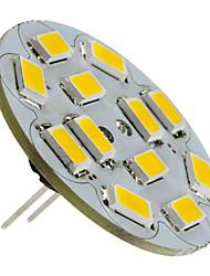 cheap -1.5 W LED Spotlight 130-150 lm G4 12 LED Beads SMD 5730 Warm White 12 V / #