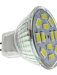 Недорогие -2 W Точечное LED освещение 250-300 lm GU4(MR11) MR11 12 Светодиодные бусины SMD 5730 Естественный белый 12 V