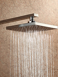 cheap -Indoor Outdoor Rain Shower Head Wall Mounted Chrome Feature - Rainfall, Shower Head
