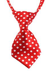 cheap -Cat Dog Tie / Bow Tie Dog Clothes Random Color Costume Fabric Polka Dot Birthday Wedding Fashion