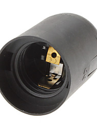 Недорогие -E27 Осветительная арматура пластик Разъем для лампочки