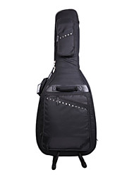 cheap -Inbox - (106039) High-grade 4-pocket Rivet Acoustic Guitar Bag with Invisible Strap
