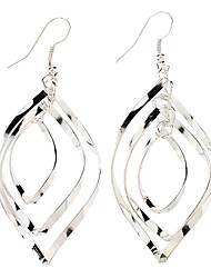 cheap -Women's Fashion Sterling Silver Silver Earrings Jewelry For Daily