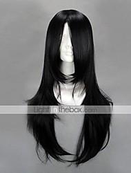 cheap -Naruto Neji Hyuga Cosplay Wigs Men's 26 inch Heat Resistant Fiber Anime Wig
