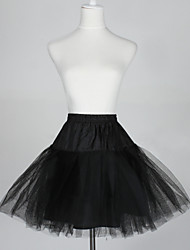 cheap -Wedding / Special Occasion Slips Taffeta / Tulle Short-Length A-Line Slip / Ball Gown Slip with