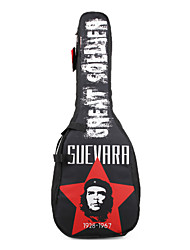 """cheap -Soldier - (2035C3) 41"""" Hero Pattern Thick Padded Acoustic Guitar Bag"""