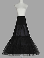 cheap -Wedding / Special Occasion Slips Organza / Taffeta / Tulle Floor-length A-Line Slip with