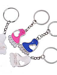 cheap -Personalized Key Ring - Feet (Set of 6 Pairs)