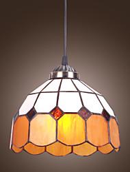 cheap -1-Light 26 cm (10 inch) Mini Style Pendant Light Glass Electroplated Tiffany / Bowl 110-120V / 220-240V