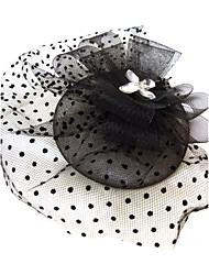 cheap -Crystal / Rhinestone / Fabric Tiaras / Fascinators with 1 Wedding / Special Occasion / Party / Evening Headpiece