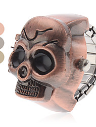cheap -Women's Ring Watch Wrist Watch Japanese Quartz Brown / Grey / Bronze Analog Ladies Skull Fashion - Gray Brown Bronze One Year Battery Life / SSUO SR626SW