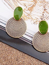 cheap -Women's Stud Earrings Statement Ladies Vintage Earrings Jewelry Screen Color For Party Special Occasion Daily