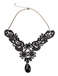 cheap -Onyx Choker Necklace Ladies Gem Alloy Necklace Jewelry For Party