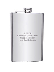 cheap -Stainless Steel Hip Flasks Groom / Groomsman Wedding / Anniversary / Birthday