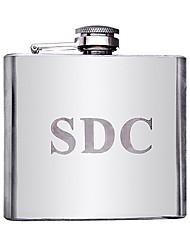 cheap -Personalized Stainless Steel Barware & Flasks / Hip Flasks Groom / Groomsman / Parents Wedding / Anniversary / Birthday