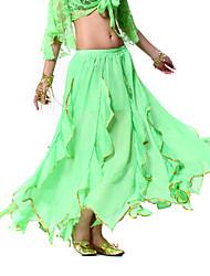 cheap -Belly Dance Skirt Women's Training Chiffon / Performance