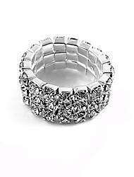 cheap -Women's Band Ring Rhinestone Alloy Fashion Party Jewelry
