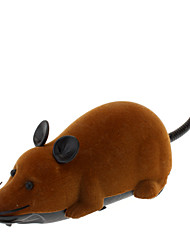 Недорогие -Игрушки на пульте управления Животные Мышь Пульт управления Прогулки 1 pcs Классика Игрушки Подарок