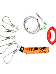 cheap -3 pcs Fishing Snaps & Swivels Engineering Plastics Stainless Steel Stainless steel Jigging Fishing Fishing Apparel & Accessories