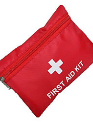 cheap -First Aid Kit Portable First Aid Nylon Camping / Hiking Red 1 pcs