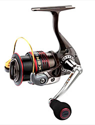 cheap -Fishing Reel Spinning Reel 6.3:1 Gear Ratio+1 Ball Bearings Right-handed / Left-handed / Hand Orientation Exchangable Sea Fishing / Spinning / Freshwater Fishing