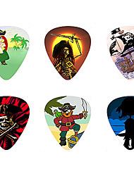 Недорогие -Kavaborg - Стандартный Форма +3-D Анимация Guitar Picks/600-Pack (пиратский Design)