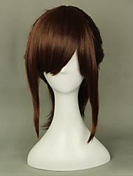 cheap -Attack on Titan Sasha Blause Cosplay Wigs Women's 18 inch Heat Resistant Fiber Brown Anime
