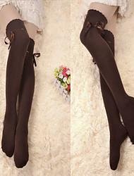 cheap -Girls' Classic Lolita Dress Socks / Long Stockings Cotton Lolita Accessories