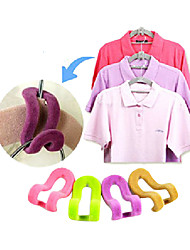cheap -Space Saving Hanger Clamp Hook (Random Color)