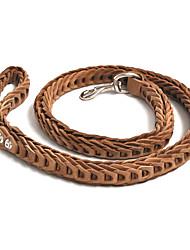 cheap -Dog Leash Adjustable / Retractable Genuine Leather