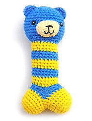 cheap -Chew Toy Dog Toy Pet Toy Squeak / Squeaking Textile Gift