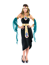 cheap -Princess Ethnic / Religious Cosplay Costume Women's Halloween Carnival New Year Festival / Holiday Spandex Women's Carnival Costumes / Headpiece