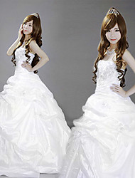 cheap -Princess Classic Lolita Dress Women's Girls' Satin Japanese Cosplay Costumes Solid Colored Lace Sleeveless Long Length