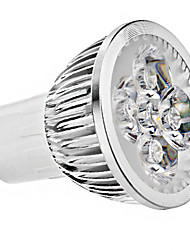 cheap -5 W LED Spotlight 400 lm GU10 MR16 4 LED Beads High Power LED Warm White Cold White 85-265 V / CE / 1 pc