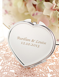 cheap -Wedding / Anniversary / Engagement Party Stainless Steel Compacts Classic Theme