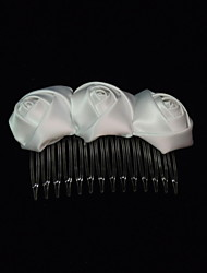 cheap -Women's Satin Headpiece-Special Occasion Hair Combs Elegant Style