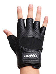 cheap -Men's Extended Bracers Sports Gloves(Black)