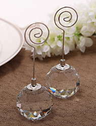 cheap -Crystal / Iron Place Card Holders Standing Style PVC Bag 1 pcs