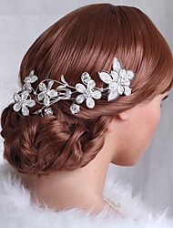 cheap -Fabulous Hand-made Hair Combs with Rhinestone for Wedding/Special Occasion Headpieces