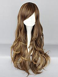 cheap -Dress Lolita Wigs Classic Lolita Dress Yellow-Brown Classic Lolita Lolita Lolita Wig 30 inch Cosplay Wigs Solid Colored Wig Halloween Wigs